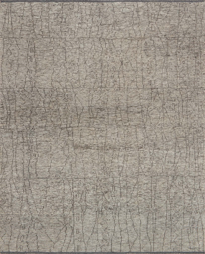 Drawing inspiration from tribal influences, the Odyssey Collection combines relaxed linear pattern with a sophisticated color palette. Each Odyssey rug, which is hand-knotted of wool and viscose from bamboo, is crafted entirely by hand by master artisans in India.  Hand Knotted 70% Viscose from Bamboo | 30% Wool OD-03 Smoke/Grey