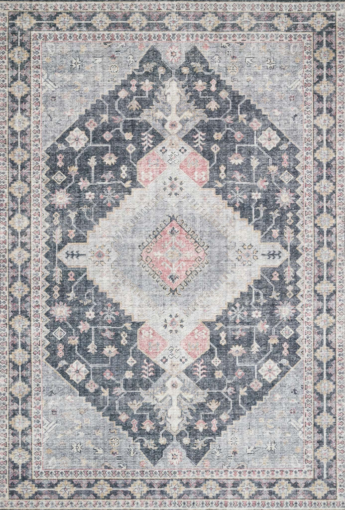 Skye Charcoal/Multi Rug - Amethyst Home