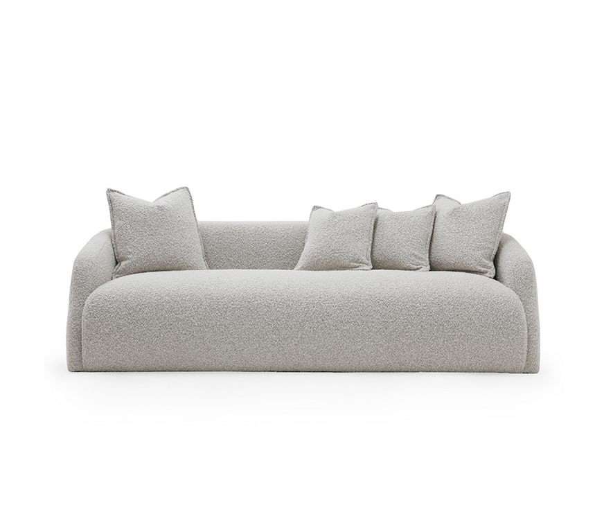 The Theo Club Sofa by Verellen is bench-crafted with a sustainably harvested hardwood frame and comes standard with:  • Upholstered only (no leather) • Double needle stitch • Tight seat configuration • Spring down with 50/50 blend seat construction • Tight back configuration • Glides