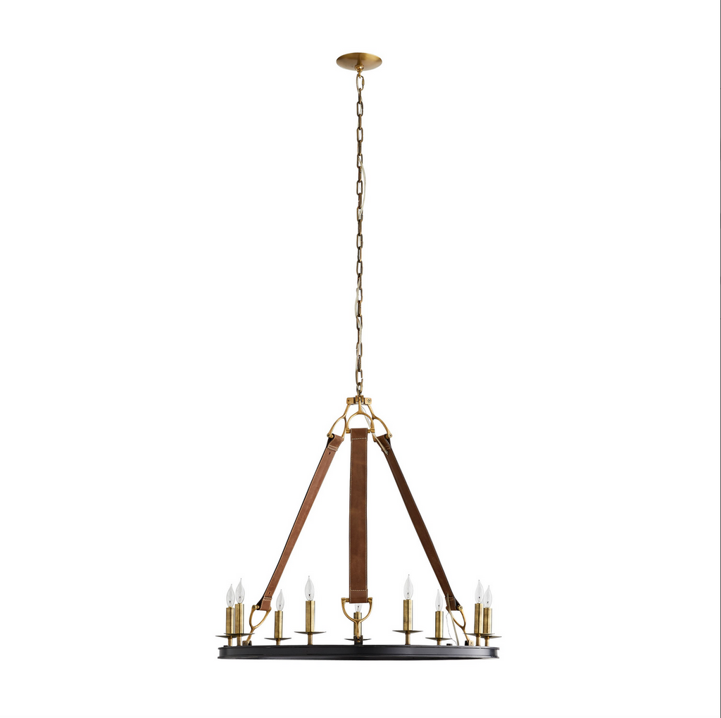 Chaney Chandelier - Amethyst Home