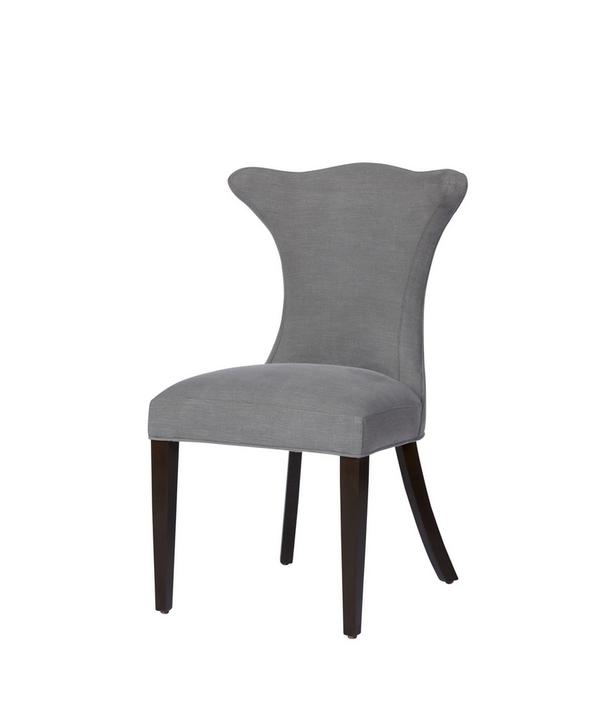 "The Art Dining Chair from Cisco Brothers is truly a timeless piece for any room in your home.  Overall dimensions  22""W x 36""H x 23""D  Priced and photographed  in a grade G fabric Molino Ash."