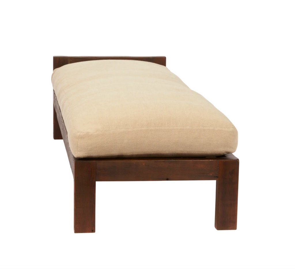 "A beautifully crafted modern piece, the Corpus Daybed from Cisco Brothers is sure to bring comfort and style to any space.  Overall size: 78""w x 27""d x 18""h  Sitting Space: 76""w x 27""d  Seat Height: 18""h  Priced and photographed in a grade H fabric Brevard Burlap."
