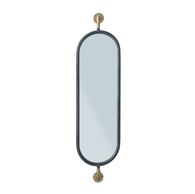 Metal Wall Mounted Mirror - Amethyst Home