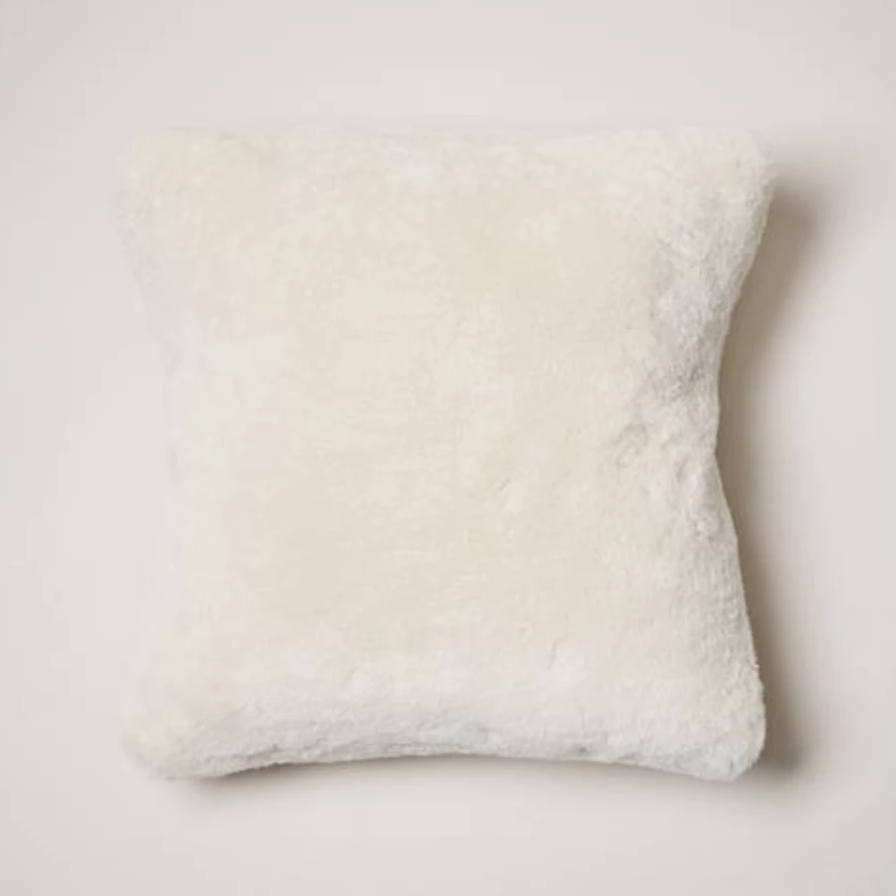Sheepskin Pillow - Amethyst Home
