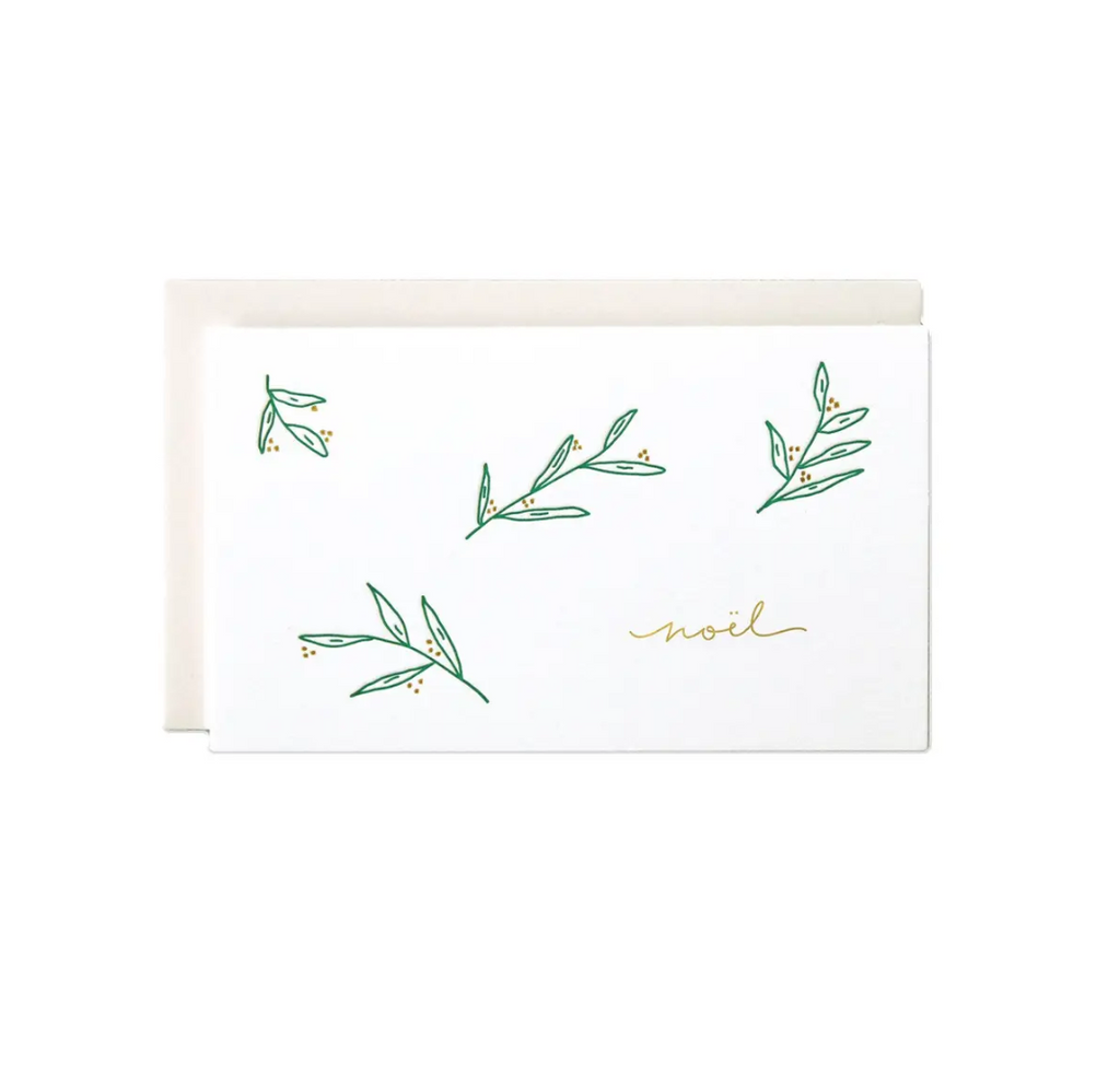 Noel Mini Card Greeting Card - Amethyst Home