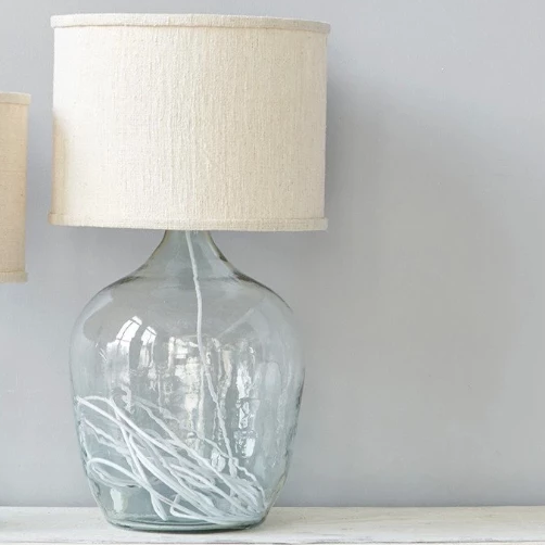 White MOD Lamp - Amethyst Home