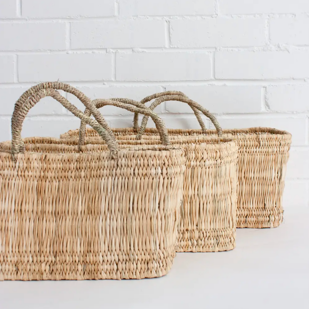 Reed Storage Basket