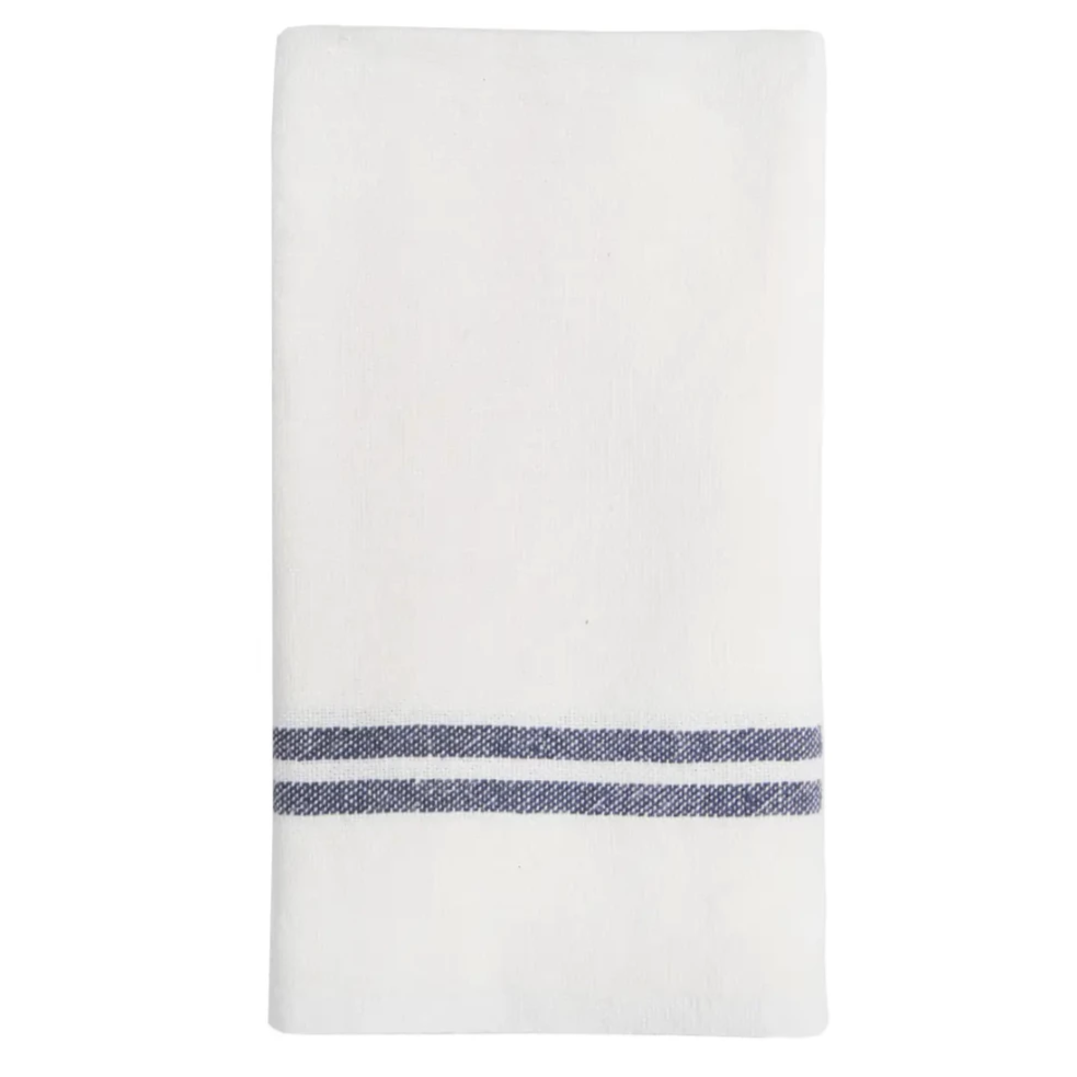 Vintage Linen Towels, Set of 2 - Amethyst Home
