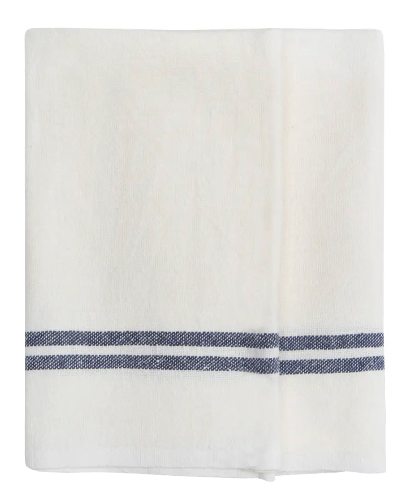 Vintage Linen Towels, Set of 2