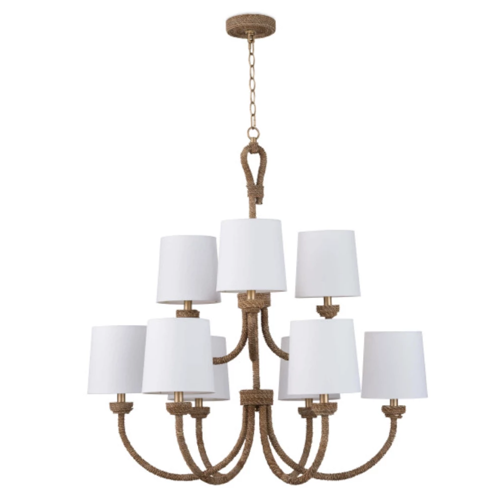 Bimini Chandelier Large - Amethyst Home