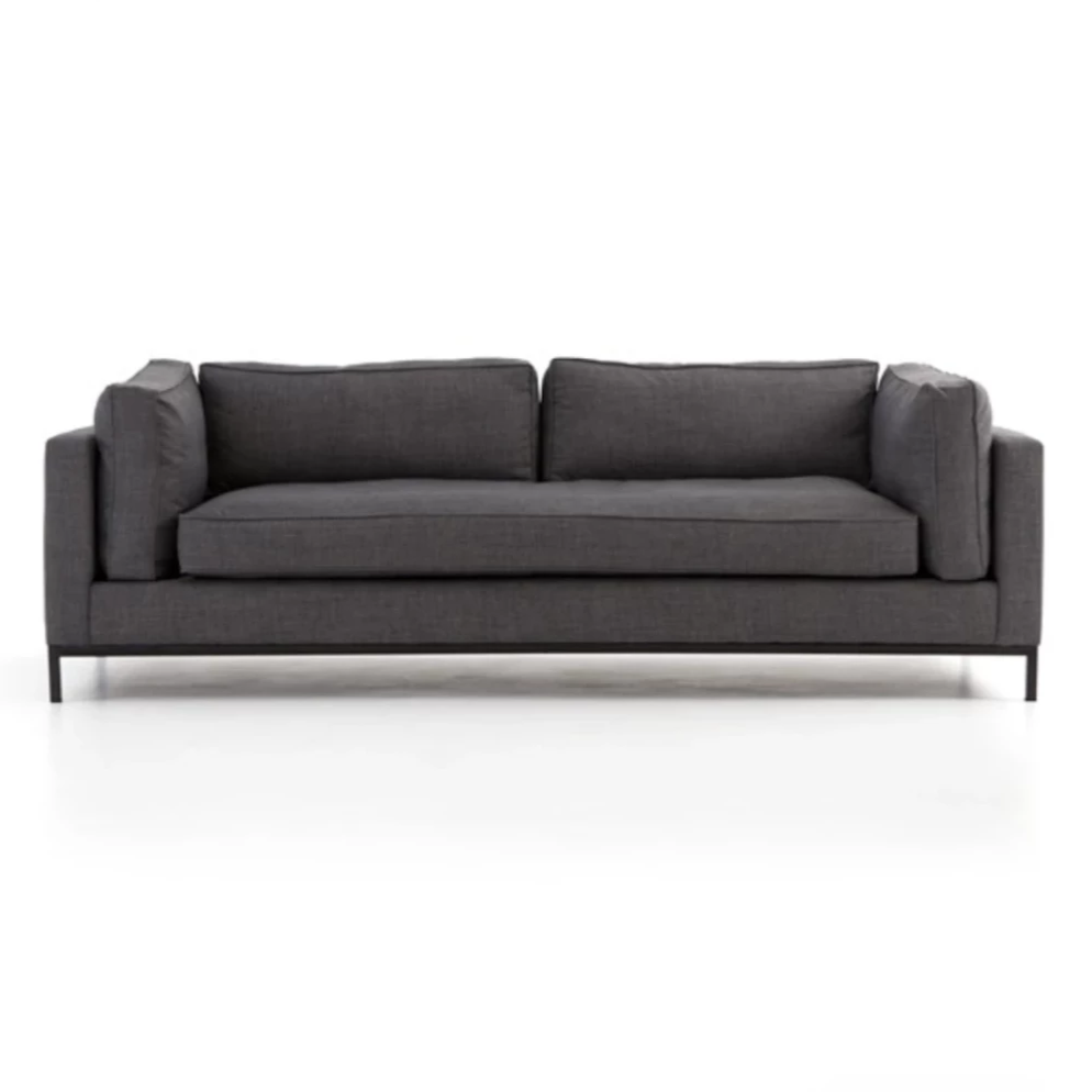 Grammercy Sofa - Charcoal - Amethyst Home
