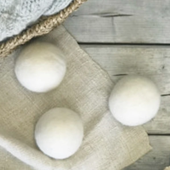Organic Wool Dryer Balls - Amethyst Home