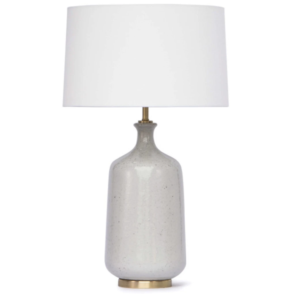 Glace Ceramic Table Lamp - Amethyst Home