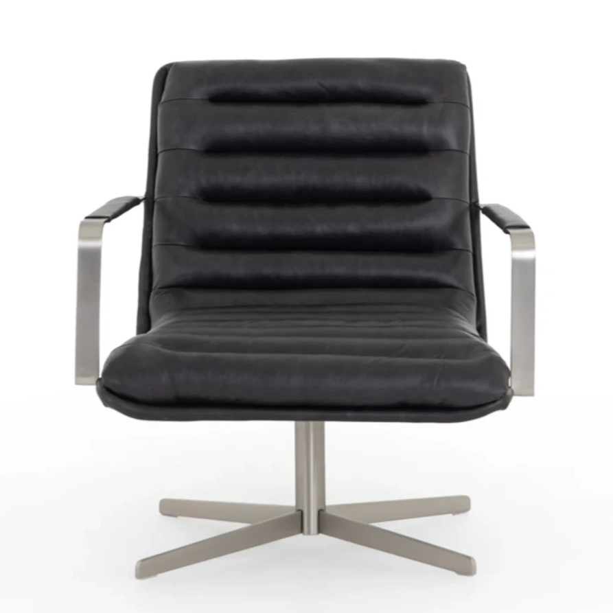 Brenton Swivel Chair - Amethyst Home