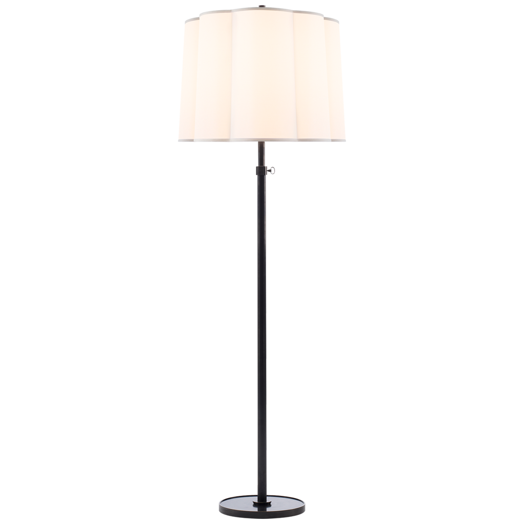 Simple Bronze Floor Lamp