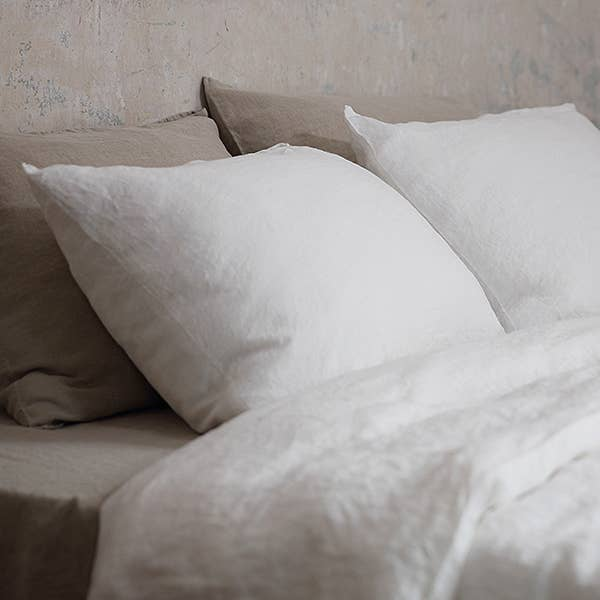 We love how the Stone Washed Case Off White Pillow are prewashed, making them soft and magical to touch. Sure to add an elegant feel to your bedroom or sofa  Ships from Lithunia in 33-47 days. Some things are worth the wait!