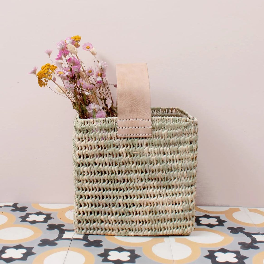 Tall Forage Basket - Amethyst Home