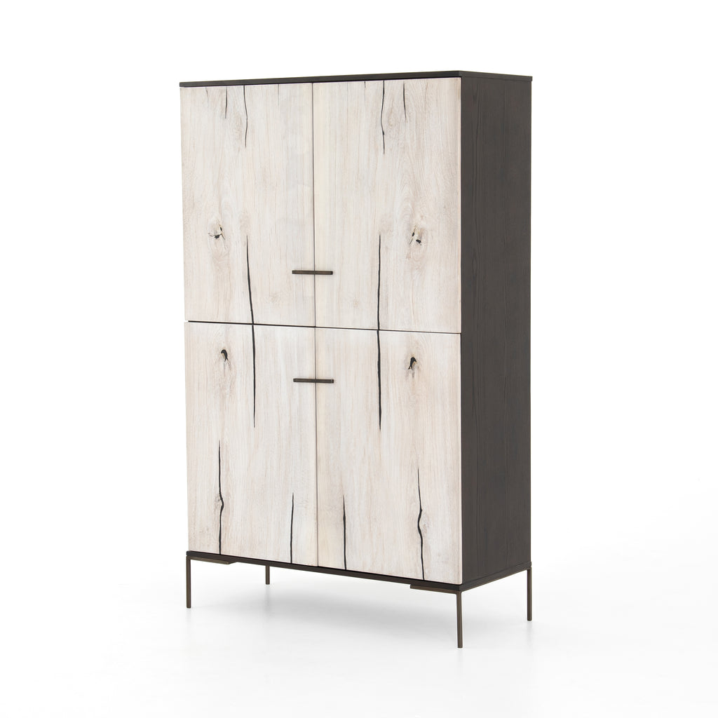 Cuzco Cabinet - Bleached Yukas - Amethyst Home