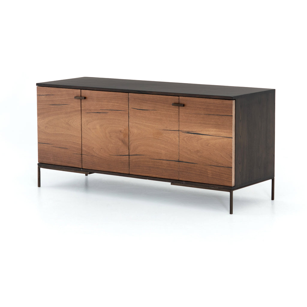Cuzco Small Media Console - Natural Yukas - Amethyst Home