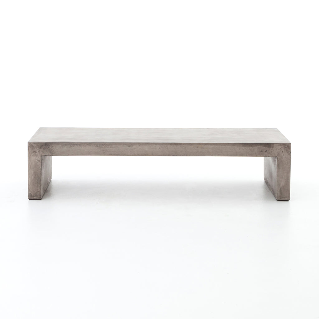 Parish Grey Concrete Coffee Table - Amethyst Home