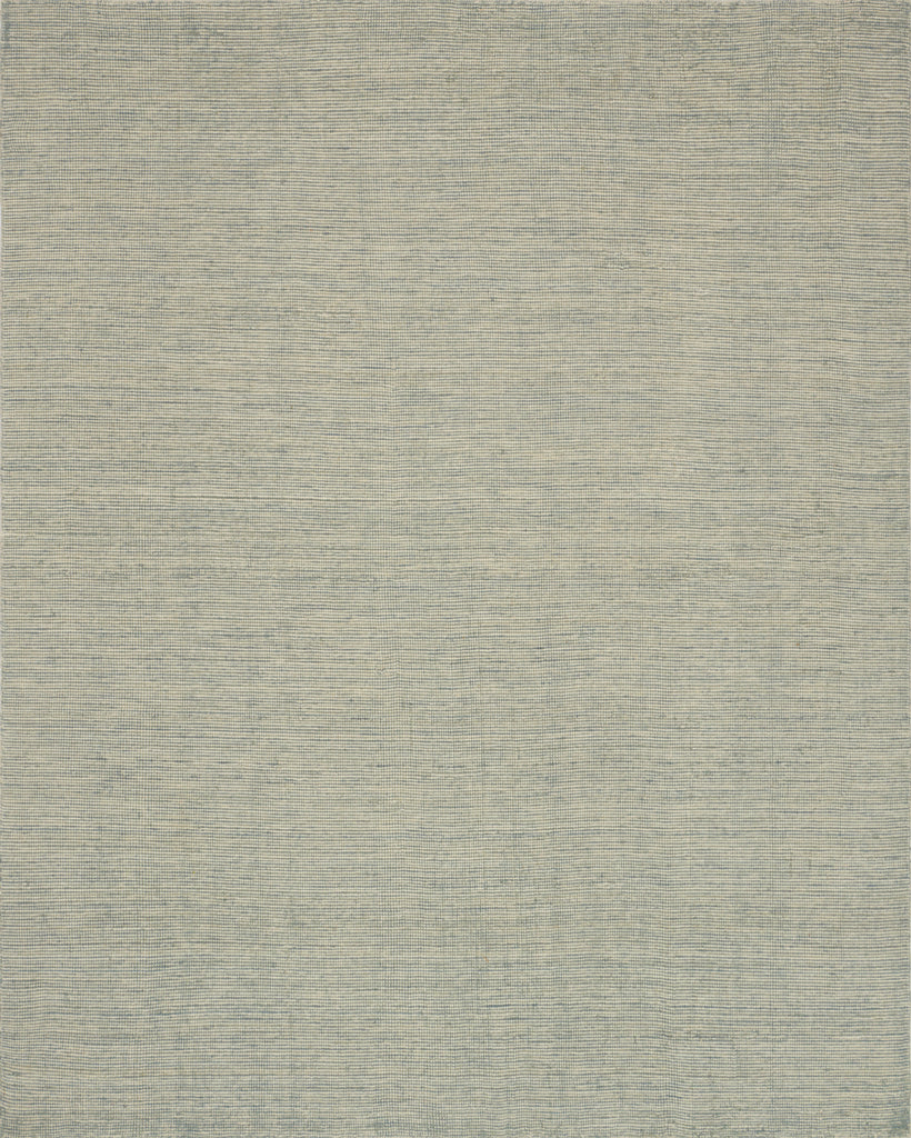 Artisanal weavers hand-loom the Villa Collection of 100% richly textured wool. Understated and relaxed, Villa's sheared detailing and organic color variation adds a sense of history and unique character to every piece. Crafted by Loloi for ED by Ellen Degeneres.  Hand Loomed 100% Wool VW-01 ED Villa Light Blue