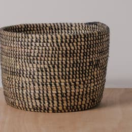 Black Storage Basket