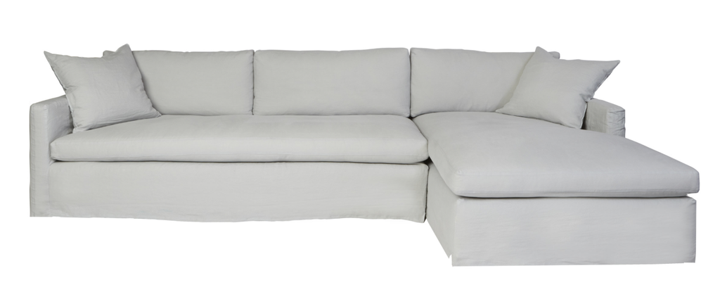 Louis 2pc Sectional- Essentials