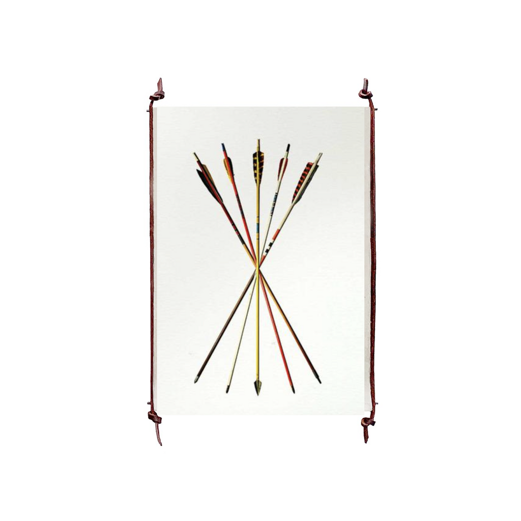This Arrow Study 4 is made from raw edge handmade paper from Nepal. Hang in your kitchen, living room, or bedroom to bring the space some organic, raw character!  Fine art prints  Pencil signature