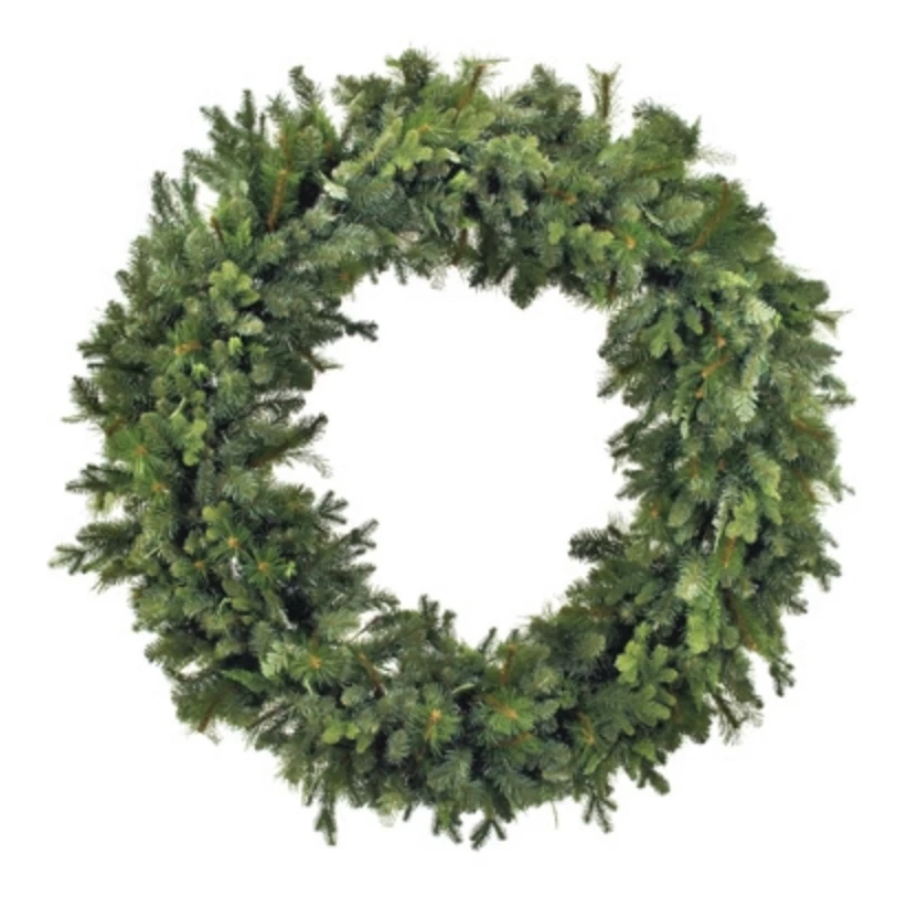 prairie wild wreath, pine, forged wreath, forest wreath, natural faux greenery