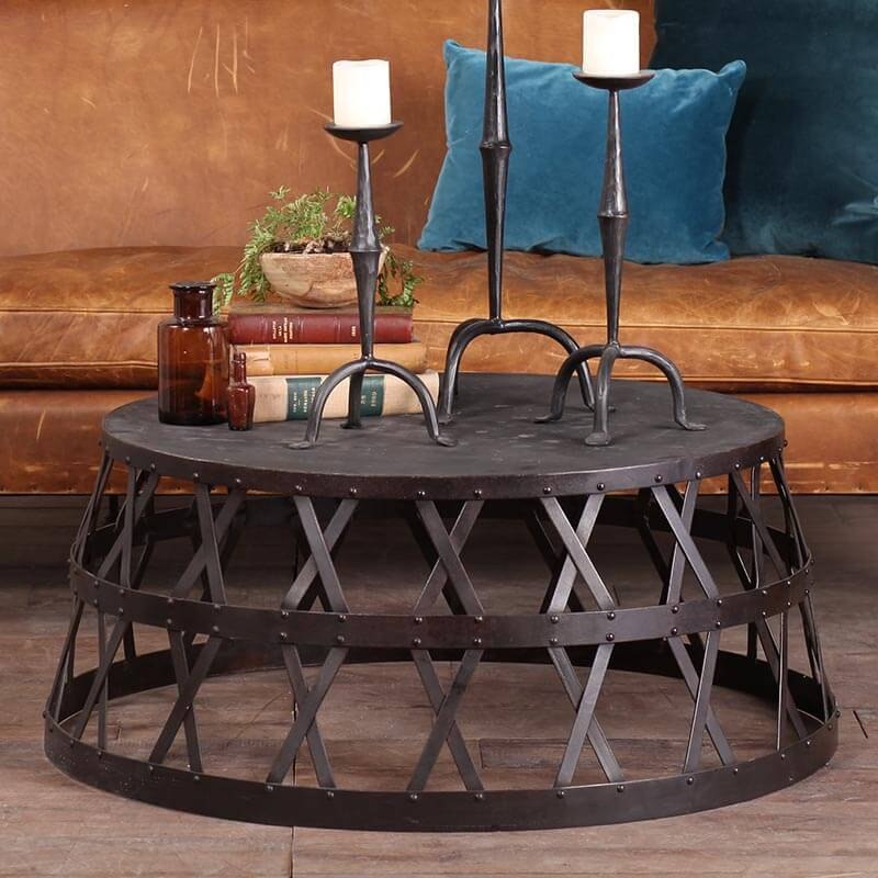 Elephant Coffee Table - Amethyst Home