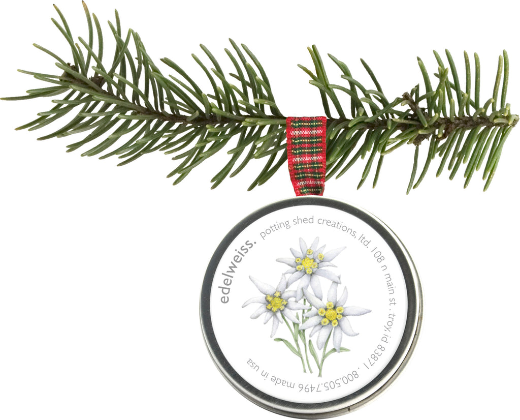 Potting Shed Creations - Holiday Ornament Edelweiss
