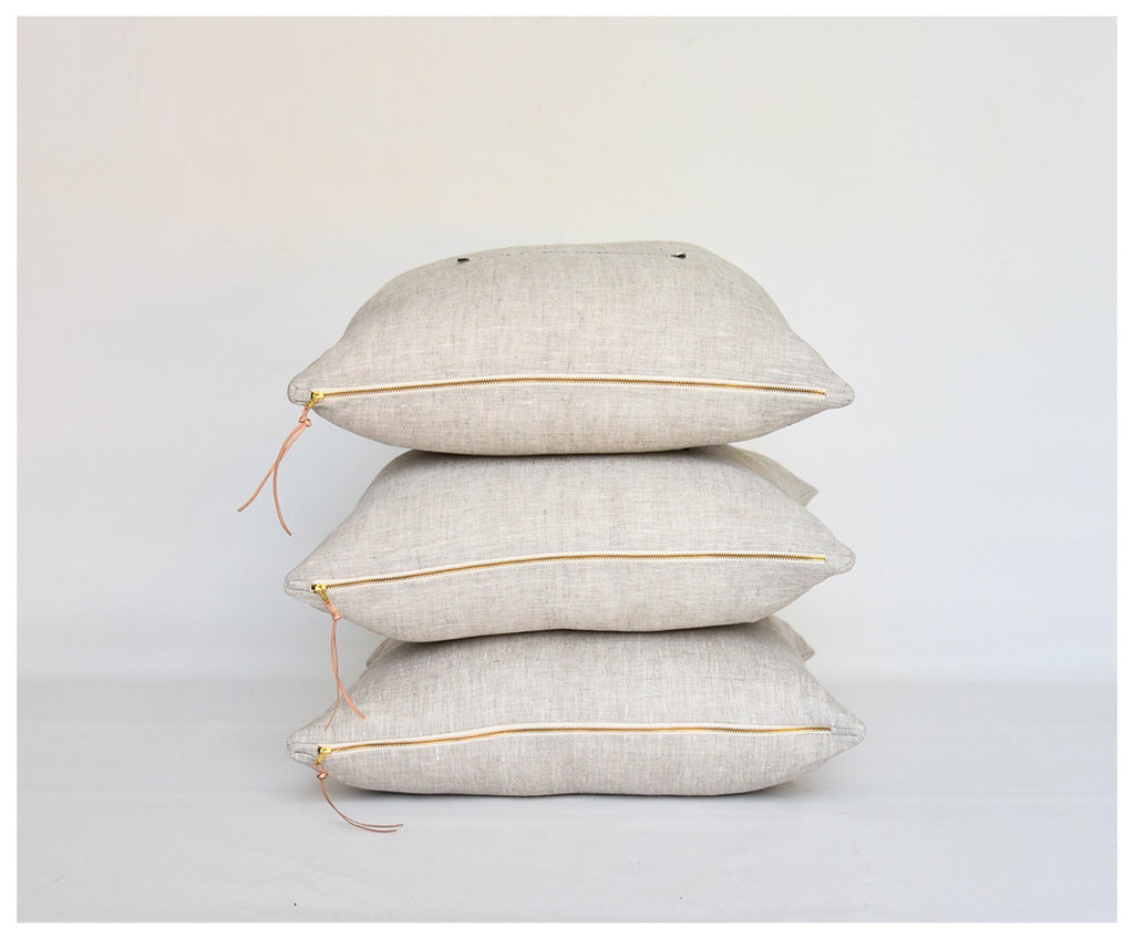 Palma Linen Pillows - Amethyst Home