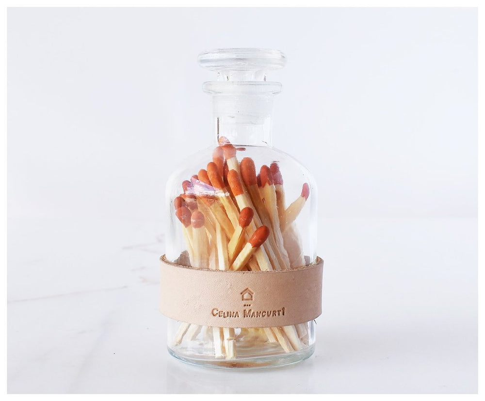 Strike-on-Jar Colored Matches