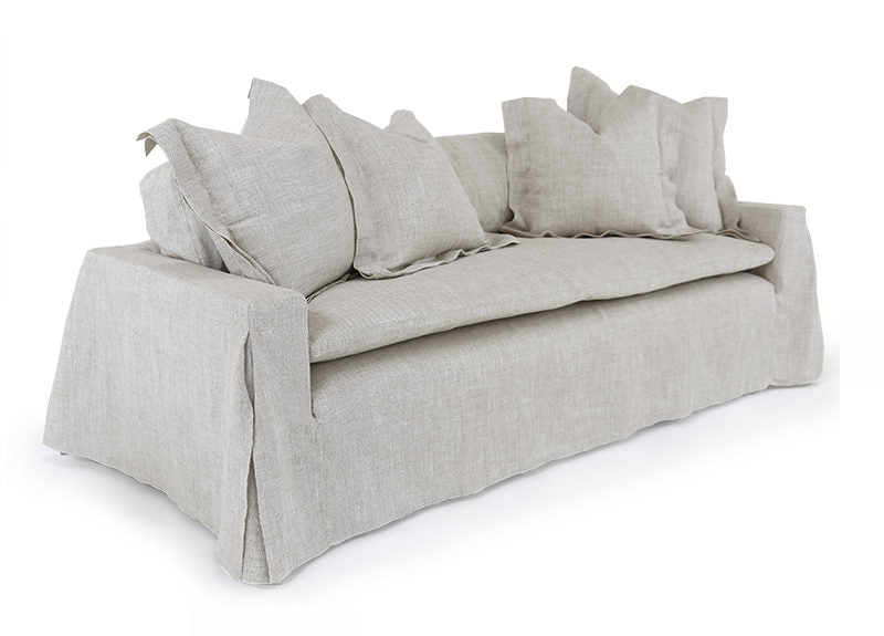 "We love the Verellen Crayton sofa - it's not too low, not too soft.  Our favorite thing is that it practically doubles as a twin bed for overnight guests. The removable down-filled single back cushion is a breeze to fluff.  The quilted foam pad allows for extra comfort over a 8-way hand-tied spring construction.  Enjoy your Crayton sofa upholstered or slipcovered!  • Overall Height: 25""/31"" • Arm Height: 25"" • Seat Height: 19.5"" • Exterior Depth: 44"" • Interior Depth: 36"" • Seat Depth: 25"""
