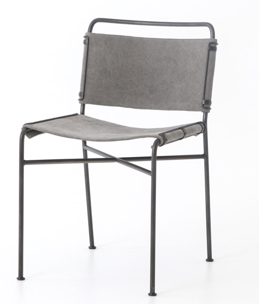 Wallace Dining Chair- Stonewash Grey