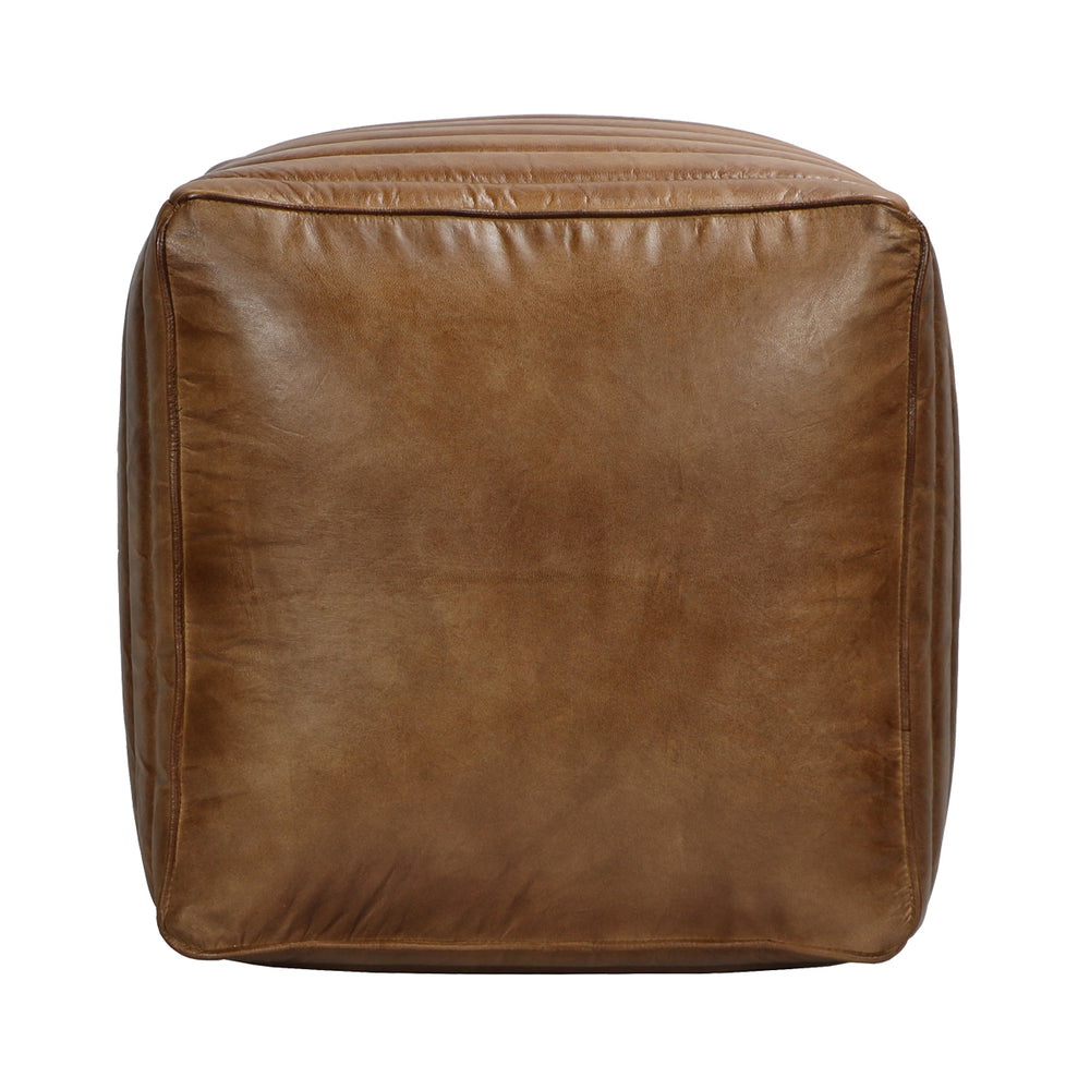 Come home to stylish comfort. This gorgeous square ottoman can be used for lounging or as additional seating. Pairs best with the Tackshop Lounge Chair.