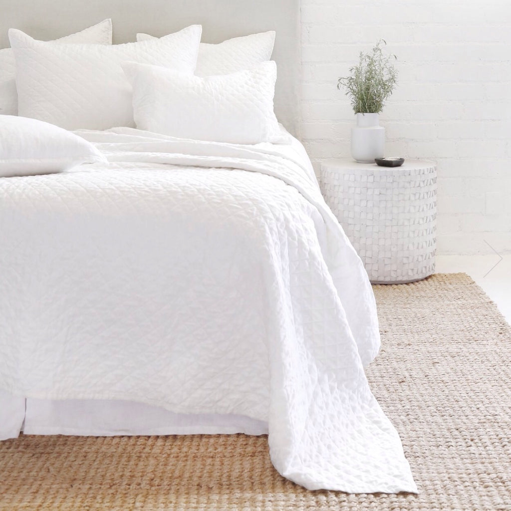 Hampton Coverlet Collection White - Amethyst Home