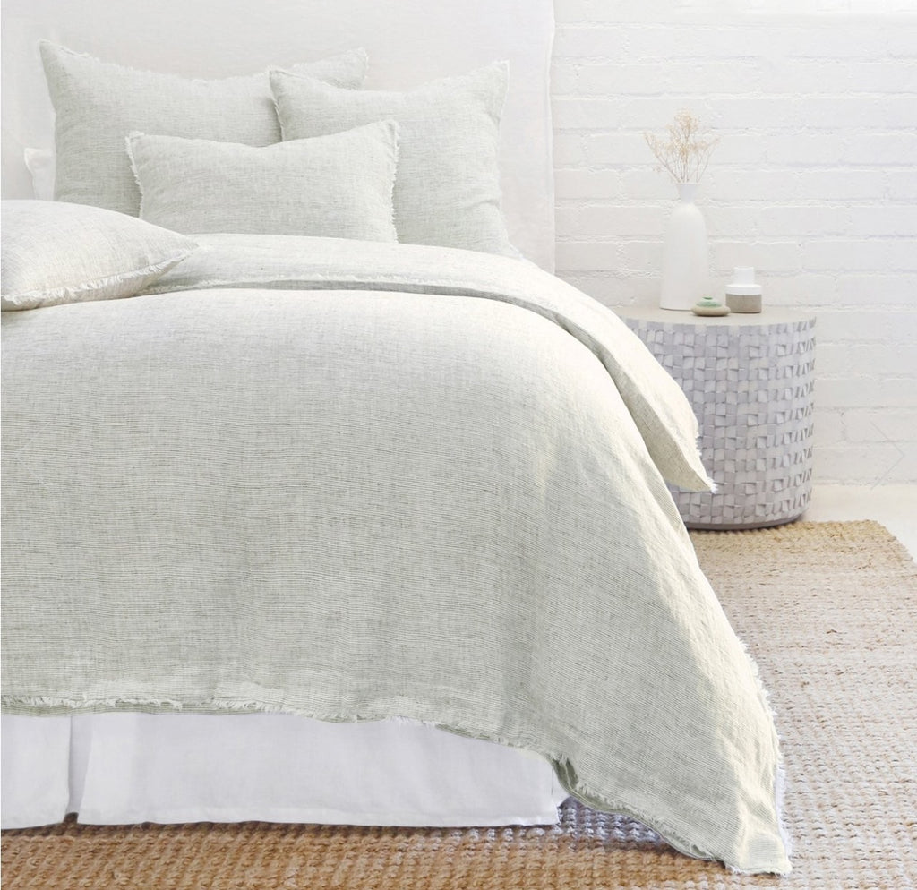 Logan Duvet Collection Olive - Amethyst Home