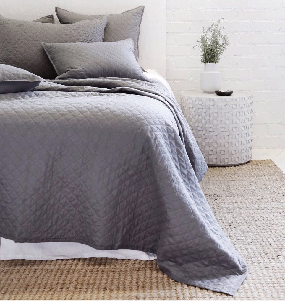 Hampton Coverlet Collection Midnight - Amethyst Home