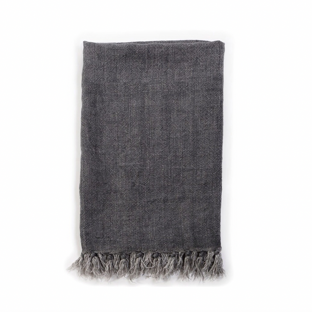 Montauk Textile Collection - Charcoal