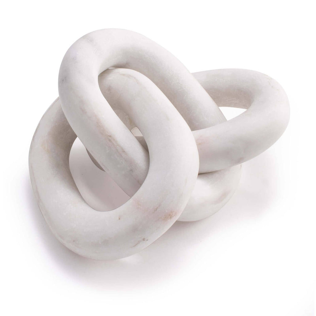"We love how simple and sophisticated this Atlas Marble Chain is. Made of marble, this is sure to elevate the space in your living room, bedroom, or any other space of your home!  Overall size: 13.5""w x 4.5""d x 3""h Material: Marble Finish: White"