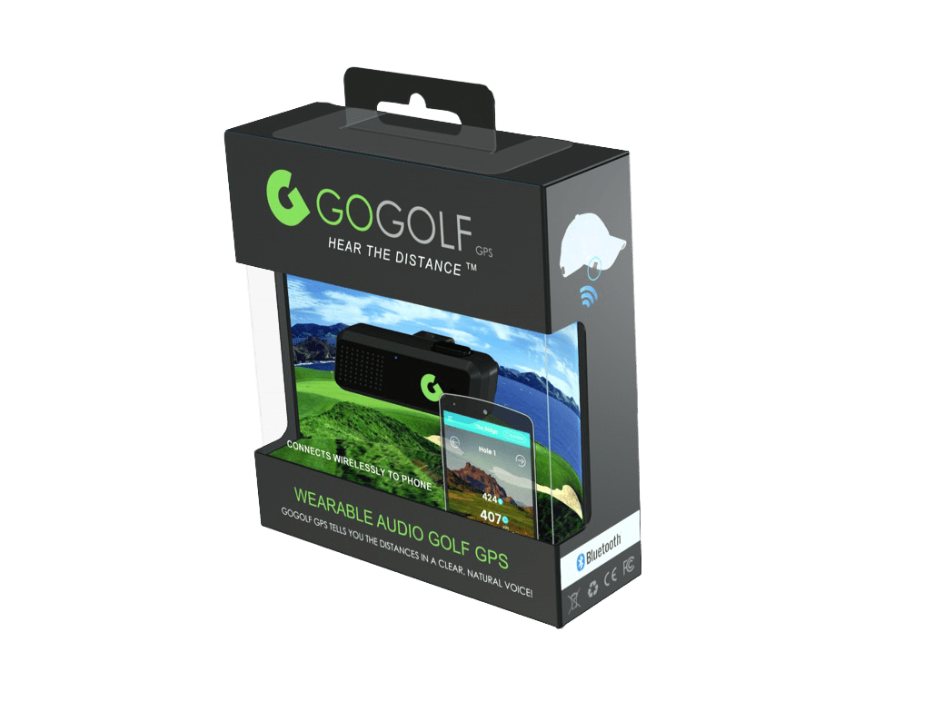GoGolf GPS - Most Compact Audio Golf GPS Unit