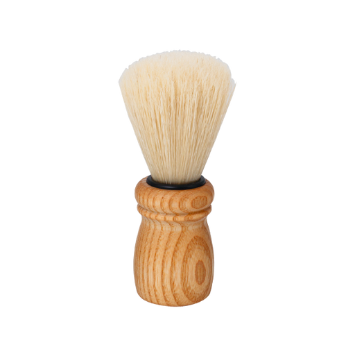 WOODEN BARBER'S BRUSH