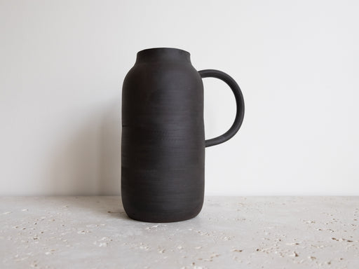 DARK BROWN VASE