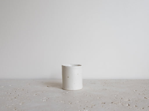 WHITE SMALL CUP 3 OZ