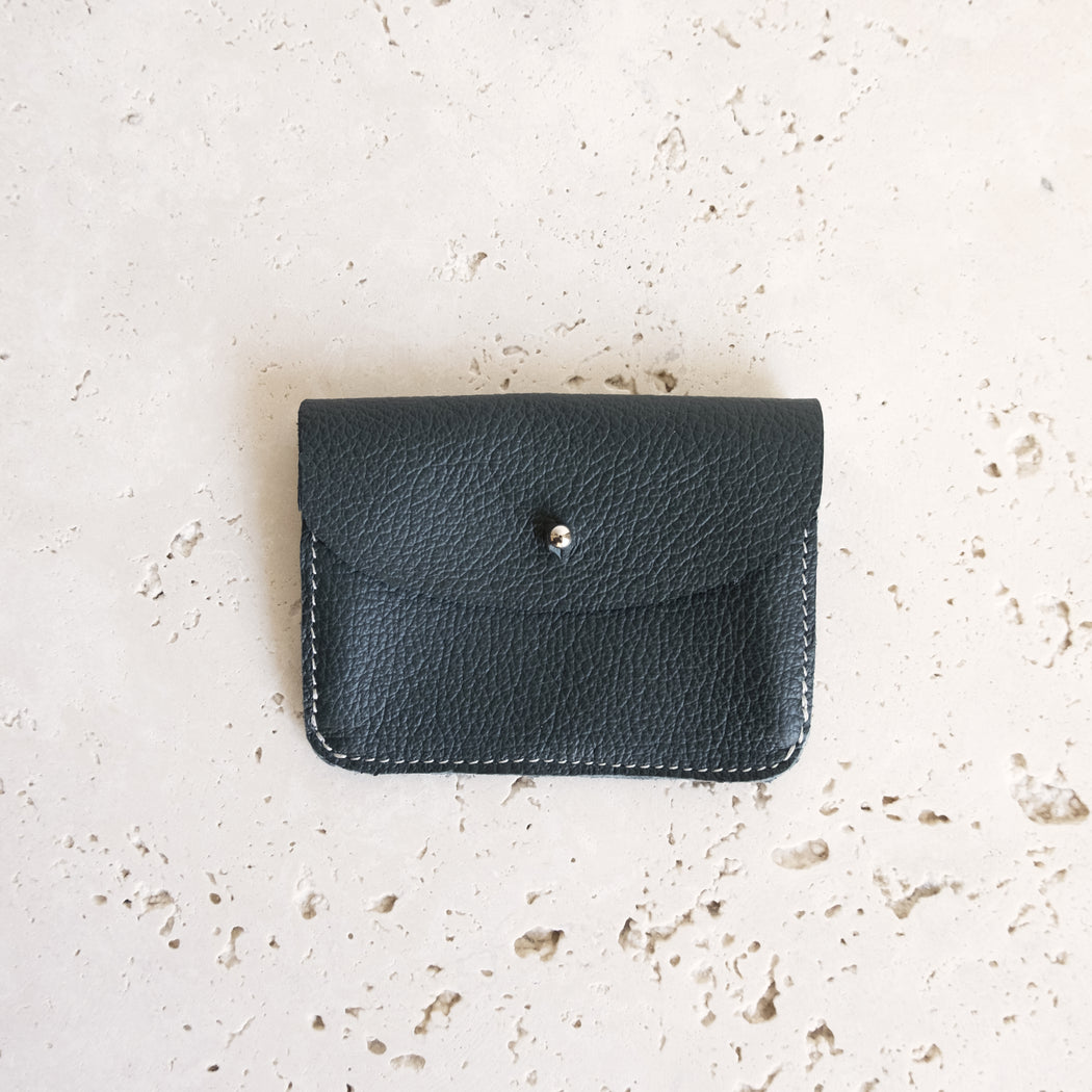 GREEN ALMOST PERFECT FEY WALLET | MILJOURS STUDIO