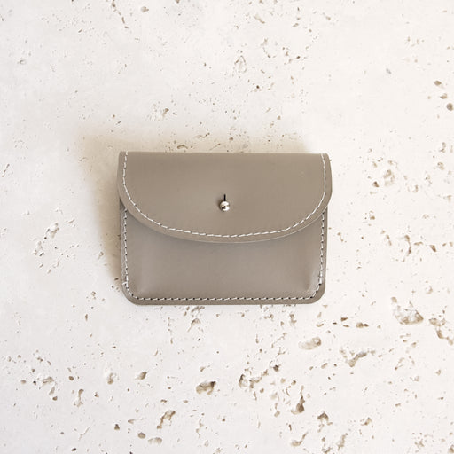 ALMOST PERFECT FEY WALLET TAUPE | MILJOURS STUDIO