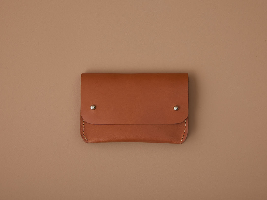 SIENNA LEATHER CARD WALLET | MILJOURS STUDIO