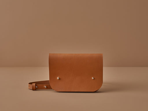 SIENNA LEATHER CROSSBODY BAG | MILJOURS STUDIO
