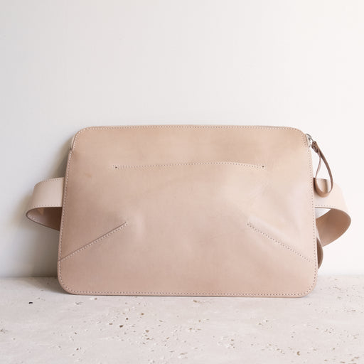 NUDE ALMOST PERFECT HERMANN BELT BAG | MILJOURS STUDIO